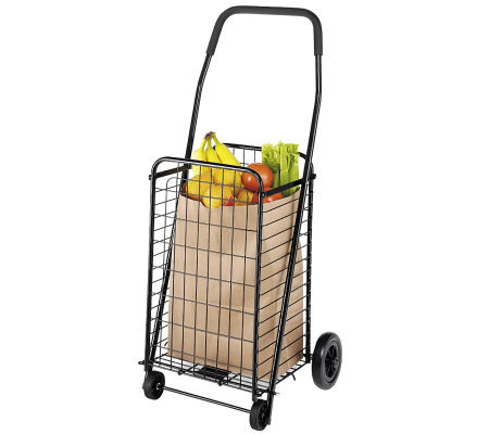 Whitmor Rolling Utility Cart Black