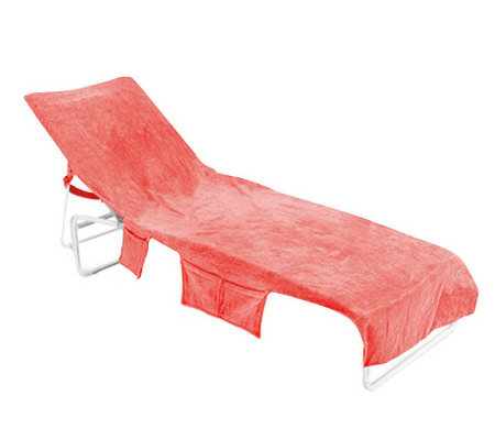 Velour cotton ultimate chaise lounge cover - Chaise velours capitonnee ...