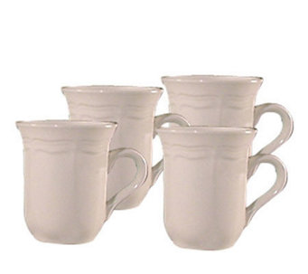 mikasa french countryside mugs set of 4 h177174