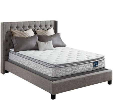 Serta Prize Pillowtop Twin Mattress Set — QVC