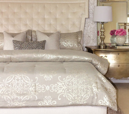 Inspire Me! Home Decor 6-piece Queen Comforter Set