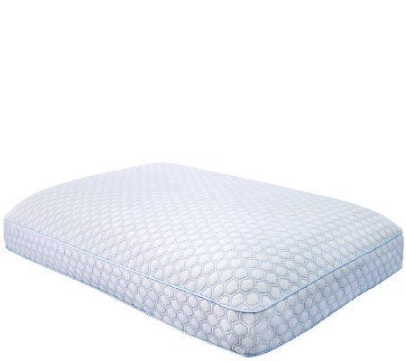 Sensorpedic Regal Gusseted Oversized Bed Pillowwith Gel