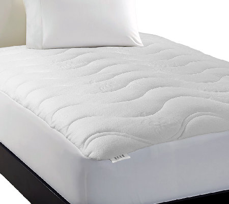 Elle Luxury Knit Down Alternative Cal King Mattress Pad