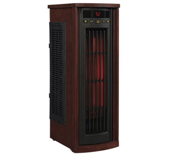 Duraflame InfraRed Oscillating Tower Heater andFan w/ Filter - H286274