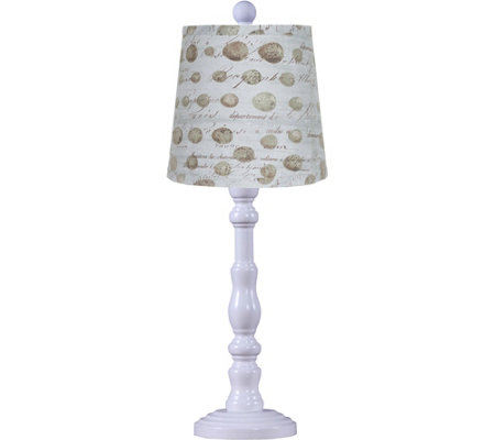 "21"" Townsend Lamp with Speckled Egg Shade by Valerie"