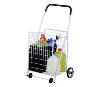 Honey-Can-Do Jumbo Heavy-Duty All-Purpose Rolling Utility Cart - H356474