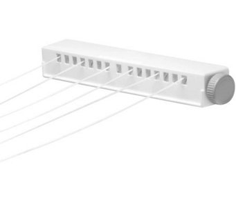 Honey-Can-Do 6-Line Extendable Clothesline - H356574