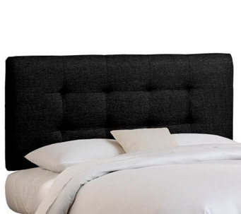 Skyline Furniture Button Tufted California King Headboard - H365874