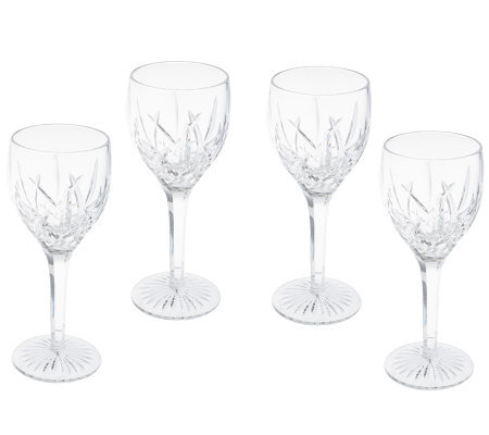 waterford crystal ryan set of 4 wine glasses - Waterford Crystal Wine Glasses