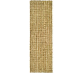 "Serenity Natural Fiber Borderless Sisal 2'6""x8' Rug - H176475"