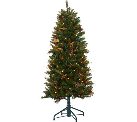 Bethlehem Lights 5' Canterbury Slim Christmas Tree