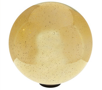 "12"" Oversized Illuminated Mercury Glass Sphere by Valerie - H208675"