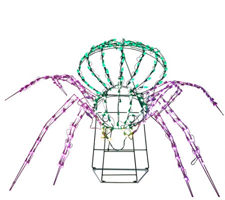 3.5-foot LED LED Spider Figure by Santa's Best