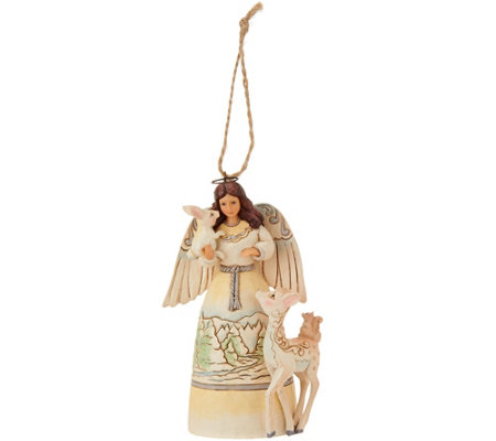Jim Shore Heartwood Creek Woodland Angel Ornament