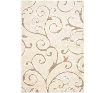 Safavieh 8'x10' Scroll Design Florida Shag Area Rug - H209875