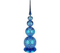 "29"" Decorative Finial with Scroll Design by Valerie - H211675"