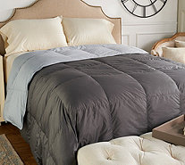 Northern Nights 400TC 600FP Reversible King Down Comforter - H212075