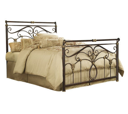 Fashion Bed Group Lucinda Marbled Russet Full Bed