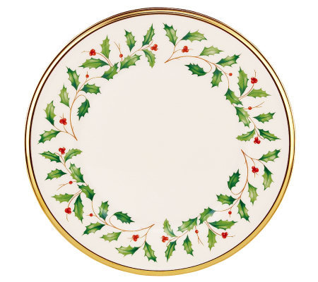 Lenox Holiday Salad/Dessert Plate