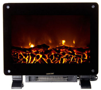 Warm House Dallas Floor-Standing Electric Fireplace - H281875