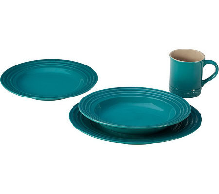 Le Creuset 4-piece Dinnerware Set