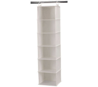 Household Essentials Six-Shelf Hanging Organizer - H282475