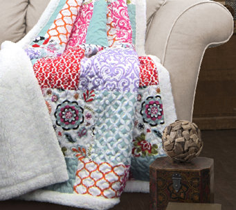 Brookdale Sherpa Throw Blanket by Lush Decor - H287275