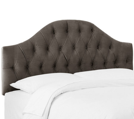 Skyline Furniture Diamond Tufted Queen Headboard