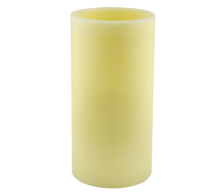 Pacific Accents 6x12 Ivory Flameless Candle Pillar