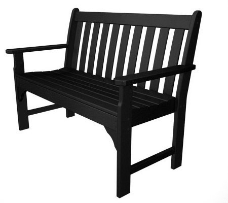 "POLYWOOD Vineyard 48"" Bench"