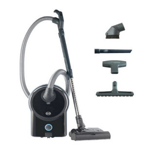Sebo Airbelt D4 Vacuum Cleaner with ET-1 PowerHead - Black - H359375