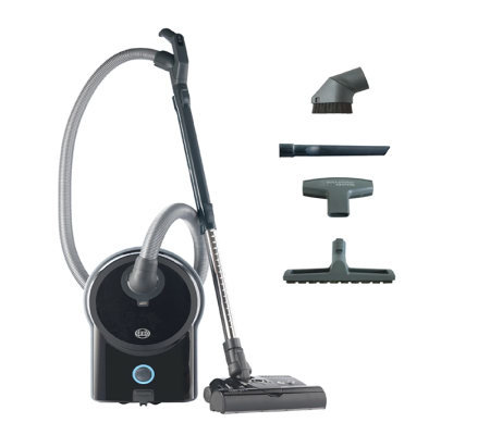 Sebo Airbelt D4 Vacuum Cleaner with ET-1 PowerHead - Black