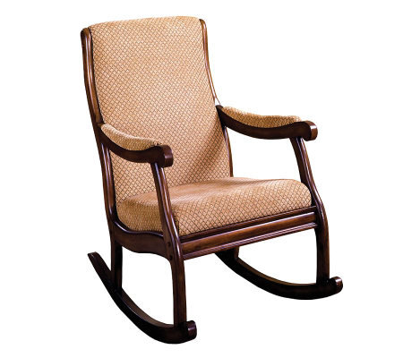 Liverpool Dark Oak Finish Rocking Chair