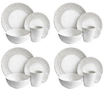 Bianca White 16-Piece Dinnerware Set - H368275