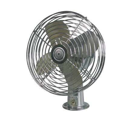 RoadPro(R) Heavy Duty Metal 2-Speed Fan - 12Volt