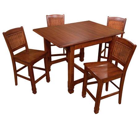 Lane Furniture Surrey Gathering Table With 4 Stools
