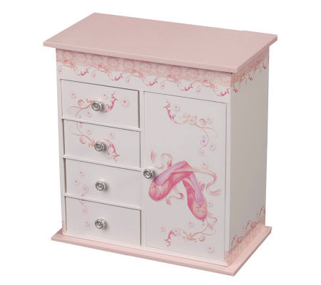 Mele & Co. Musicial Ballerina Jewelry Box