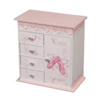 Mele & Co. Musicial Ballerina Jewelry Box