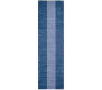 "Momeni Metro ""Blocks"" 2'3"" x 8' Handmade Wool Runner - H161476"