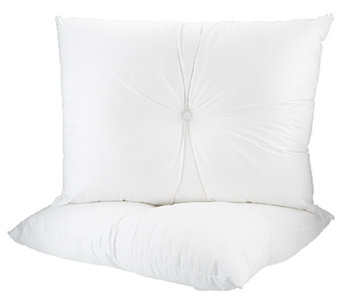 Pillows with Purpose Set of 2 Dimple Pillows with Cotton Cover - H203576