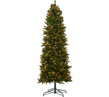 Bethlehem Lights 6.5' Canterbury Slim Christmas Tree