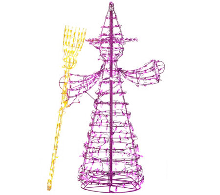 5-foot LED Witch Figure by Santa's Best