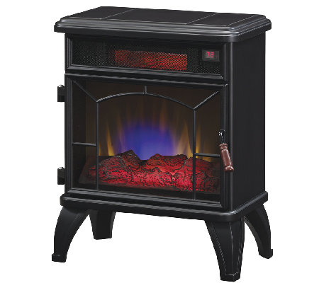 Duraflame Mason Infrared Stove Fireplace Heaterwith Remote