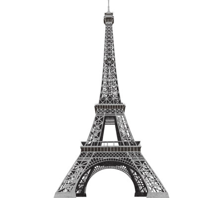 RoomMates Eiffel Tower Peel & Stick Giant WallDecal
