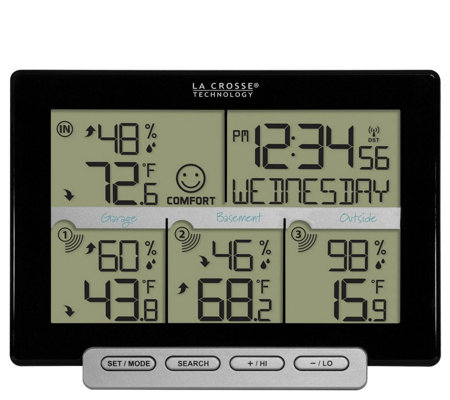 La Crosse Technology 3 Channel Wireless WeatherStation