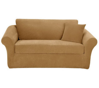 Sure Fit Stretch Pique 3-Piece Sofa Slipcover - H349976