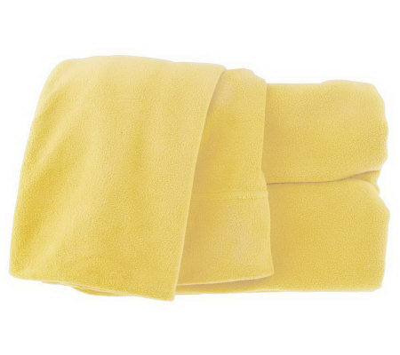 Malden Mills Polarfleece King Size Sheet Set