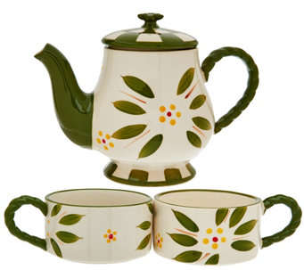 Temp-tations Old World Tea for 2 Set - H207277