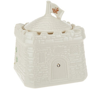 Belleek Bunratty Castle Canister - H207977