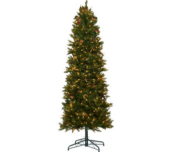 Bethlehem Lights 7.5' Canterbury Slim Christmas Tree - H208577